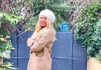 Και η Ελένη Μενεγάκη βγήκε να απολαύσει το χιόνι [εικόνα] - Κεντρική Εικόνα
